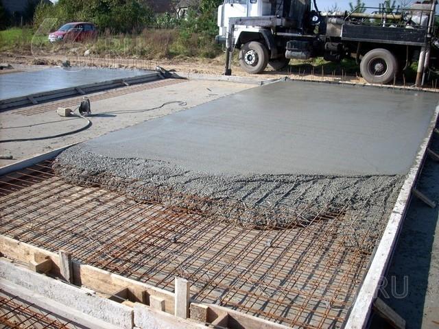 Уход за твердеющим бетоном