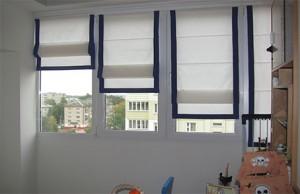Самостоятельное изготовления римских штор