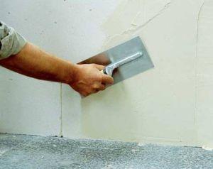Штукатурка и шпаклёвка стен и потолка