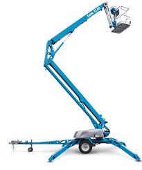 Особенности современных малогабаритных подъёмников коленчатого типа для ремонта мостов
